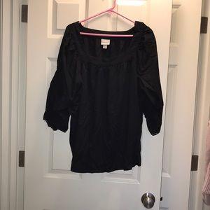 Ava and viv black blouse